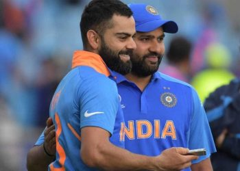 The Kohli-Sharma duo need just 27 runs to complete 1,000 partnership runs against the West Indies in ODIs.