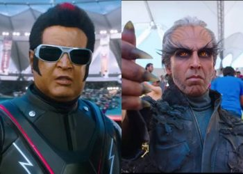 '2.0' is a sequel to the 2010 film 'Enthiran' and is directed by Shankar.
