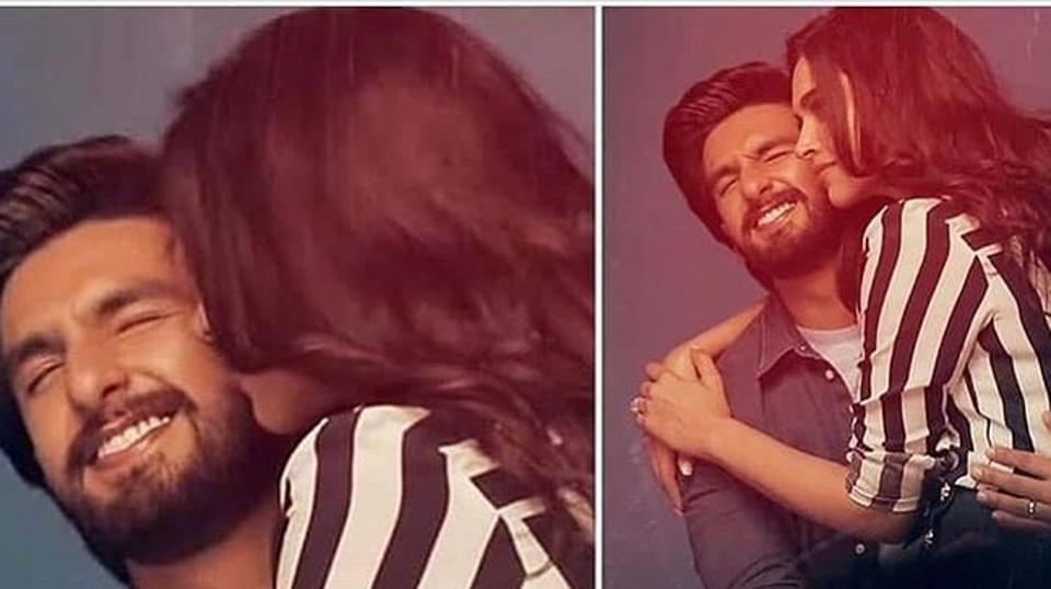 Ranveer Singh shares romantic photo with wife Deepika Padukone