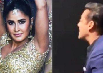IIFA Awards: Salman Khan whistles and claps at Katrina's performance – watch video