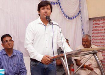 Akash Vijayvargiya. File pic