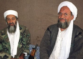 Osama Bin Laden and Ayman al Zawahiri