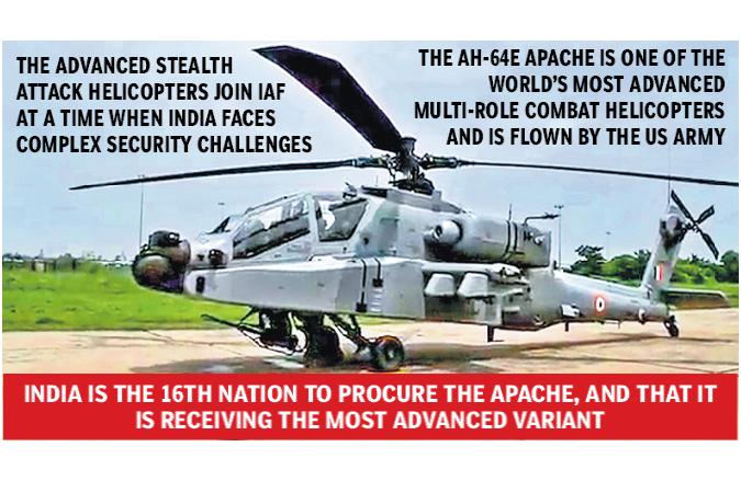 IAF receives Apache firepower - OrissaPOST