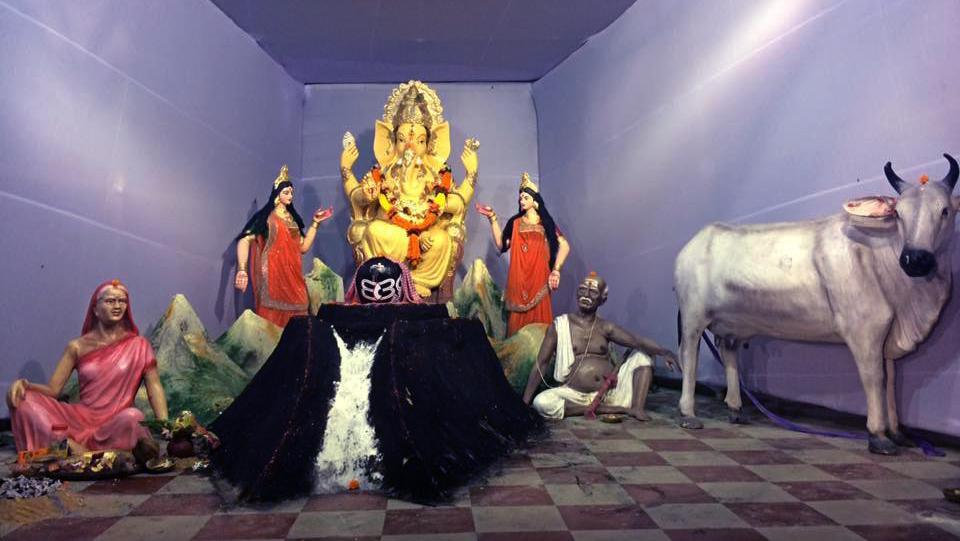 Ganesh Puja, Nuapada Press colony (6)