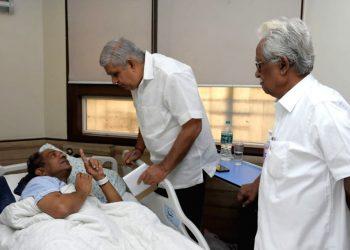 West Bengal Governor Jagdeep Dhankar visits Jadavpur University VC Suranjan Das, Saturday