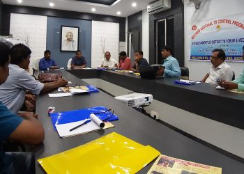 Admin sets 2025 target to get rid of TB in Keonjhar