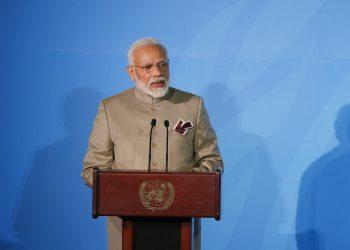Narendra Modi at the United Nations, Monday