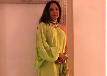 'Badhaai Ho' actress Neena Gupta flaunts sneakers with neon green outfit