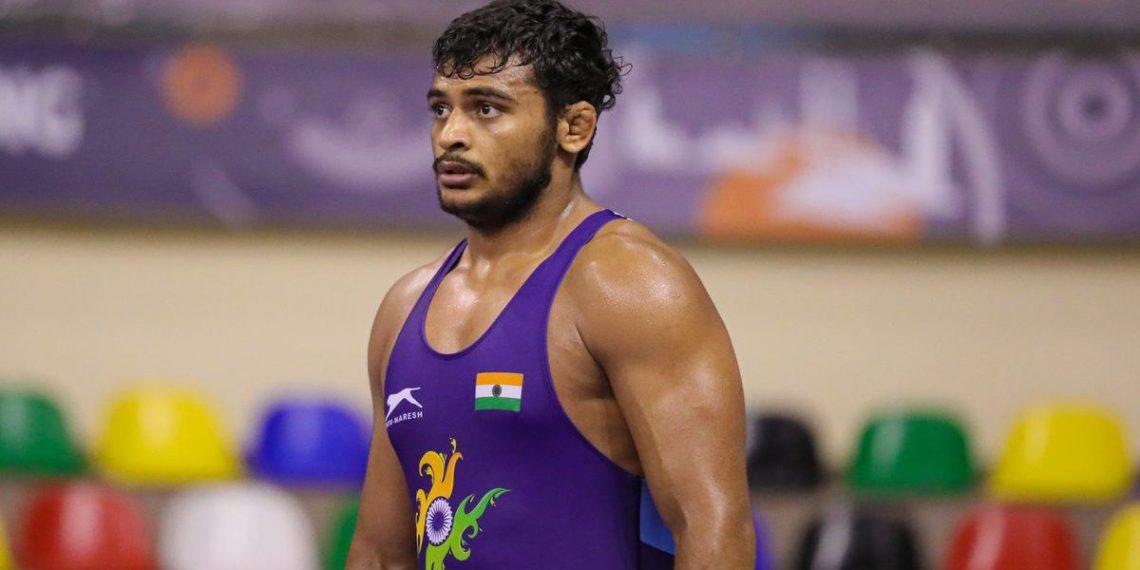 Greco-Roman wrestler Ravi Kumar