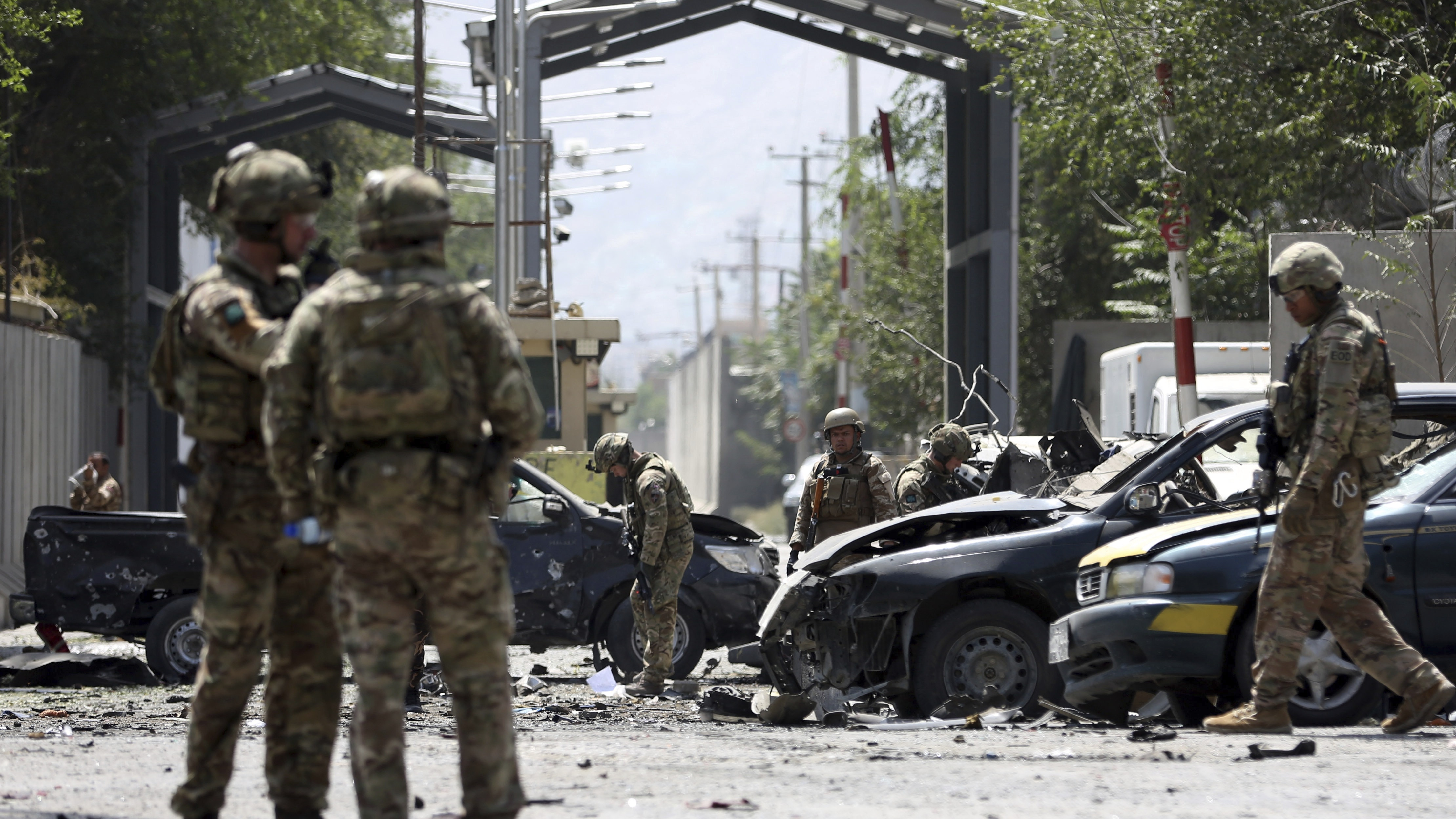 US, Romanian soldiers, 10 Afghan civilians killed in Kabul