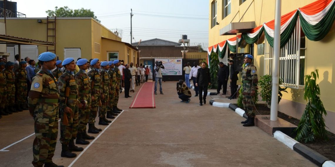 The Indian police officers have served the UN and the people of South Sudan for almost a year.
