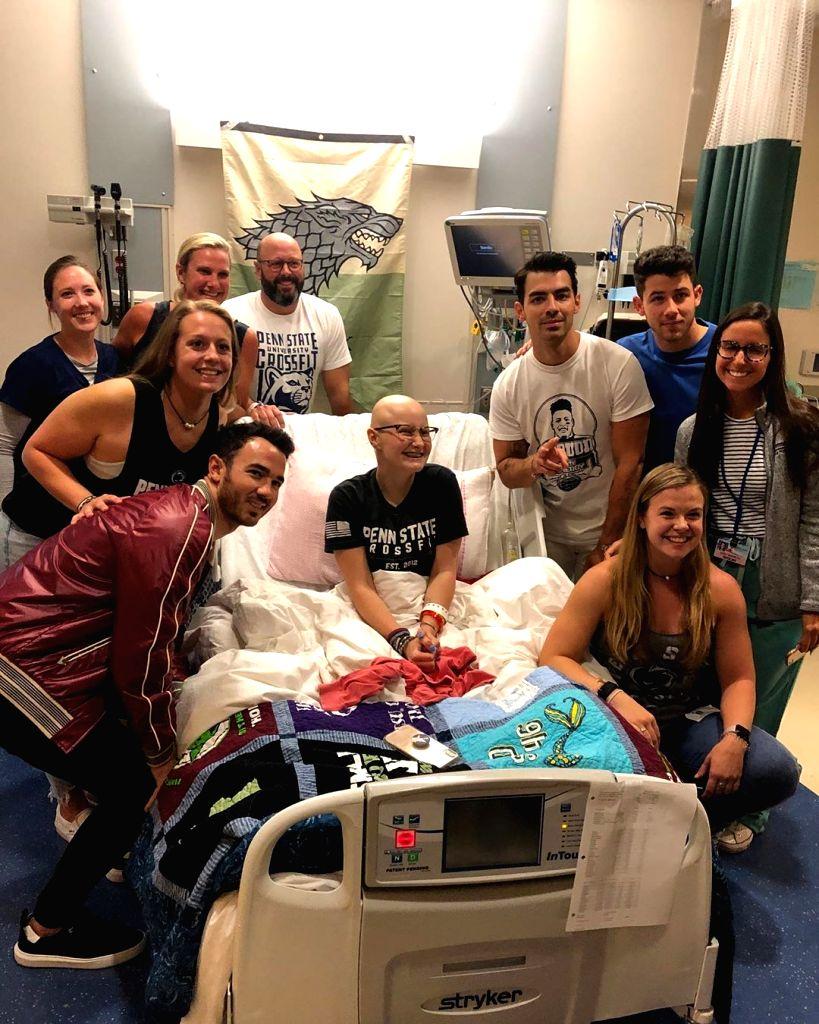 Priyanka Chopra Nick Jonas Pay Hospitalised Young Fan A Surprise Visit Orissapost