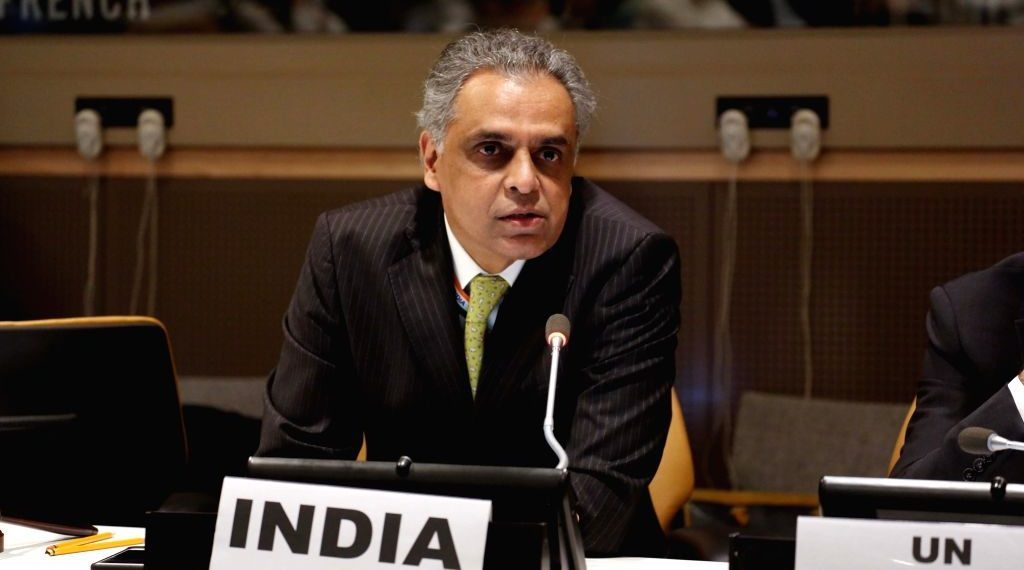 India's Permanent Representative to the UN Syed Akbaruddin.
