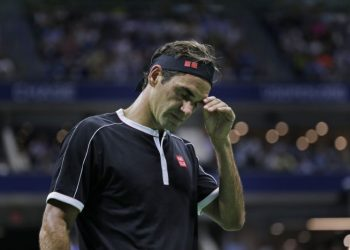 The 38-year-old Swiss had defeated Dimitrov in all seven previous meetings but surrendered a two sets to one lead before sliding to a 3-6 6-4, 3-6, 6-4, 6-2 defeat Tuesday.
