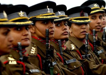 The women soldiers will be commissioned into the Corps of Military Police of the Indian Army.