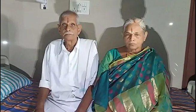 Y Raja Rao and Mangayamma