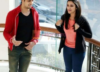 Parineeti Chopra, Sidharth Malhotra at Hasee Toh Phasee promotions in Delhi on 3rd Feb 2014 shown to user
