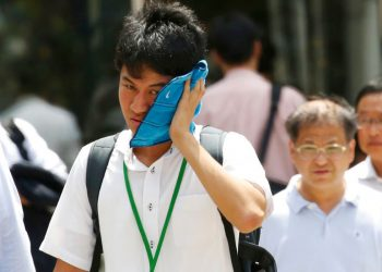 Olympic organisers have been on the offensive over concerns that holding the Games during summer months when Tokyo regularly reaches 35 degrees centigrade with 80 percent humidity will be unsafe.