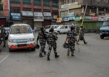 The restrictions have been lifted from most areas of the valley, but continued in parts of Srinagar.