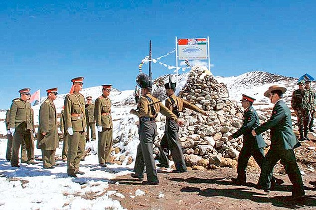 The incident took place after Indian soldiers patrolling the area did not heed to objection to their presence in the area by Chinese troops.