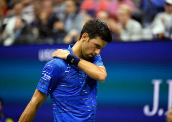 Swiss 23rd seed and 2016 champion Wawrinka led Djokovic 6-4, 7-5, 2-1 when the Serb quit, having received treatment on his troublesome left shoulder before the start of the third set.