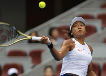 Fourth seed Osaka looked frustrated and disgruntled on several occasions against the 76th-ranked Pegula.