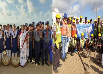 World's biggest beach clean-up drive in Puri gets underway