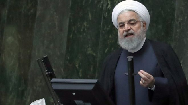 In his remarks Wednesday, Rouhani said Iran was ready to comply with the Joint Comprehensive Plan of Action only if the Americans did so too.