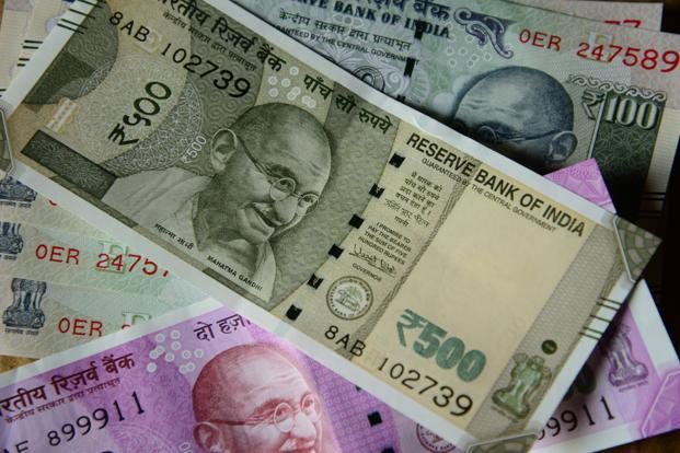 At the interbank foreign exchange the rupee opened at 70.96, then gained further ground and touched a high of 70.87, registering a rise of 20 paise over its previous close.