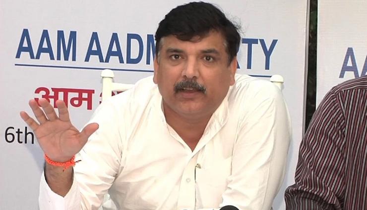 Aam Aadmi Party MP Sanjay Singh