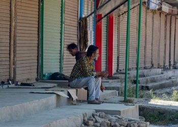 Normal life remained severely affected elsewhere in the valley due to the shutdown which entered its 42nd day Sunday, the officials said.