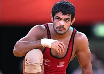 Using all his experience, the wily Indian had raced to a 9-4 lead but lost seven points in a row to lose the 74kg qualification bout.