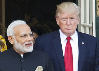 It is for the first time that Trump and Modi would share a stage together.