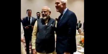 PM Modi apologises to US Senator's wife; Watch video
