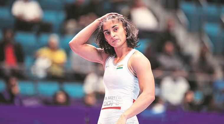 After being placed in an extremely tough 53kg draw, Vinesh had lost to reigning champion Mayu Mukaida in the second round.