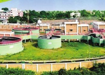 A sewage treatment plant at CDA in Cuttack