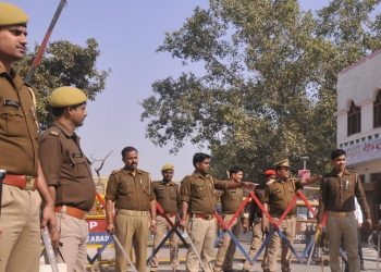 Forces deployed in Ayodhya, security heightened