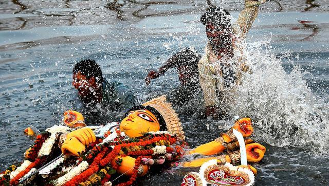 BMC makes artificial ponds in Daya, Kuakhai for idol immersion
