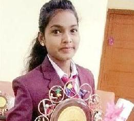 Odia girl wins national laurels for Chhattisgarh