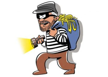 looter lock elderly couple inside a room, loot valuables worth Rs 5 L