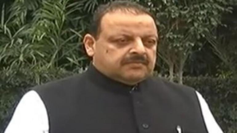 National Conference provincial president Devender Singh Rana