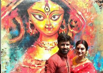 MP Nusrat Jahan dances during Durga Puja celebrations, video goes viral