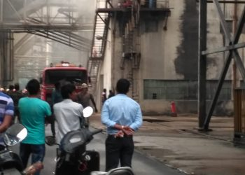 Fire breaks out at Nalco