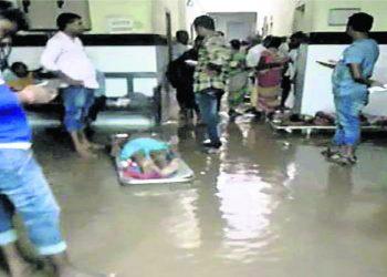 Heavy rains wreak havoc in Cuttack