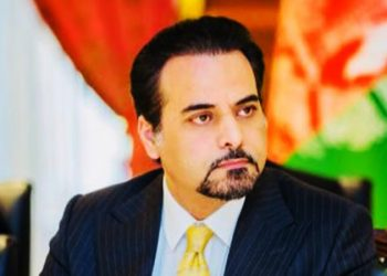 Idrees Zaman, Deputy Foreign Minister, Afghanistan (Twitter)