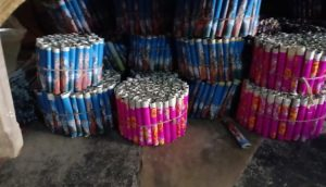 Illegal firecracker manufacturing factories busted in Cuttack