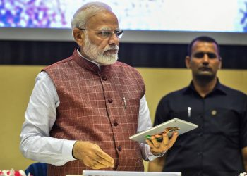 Prime Minister Narendra Modi during the 'Arogya Manthan', event, Tuesday