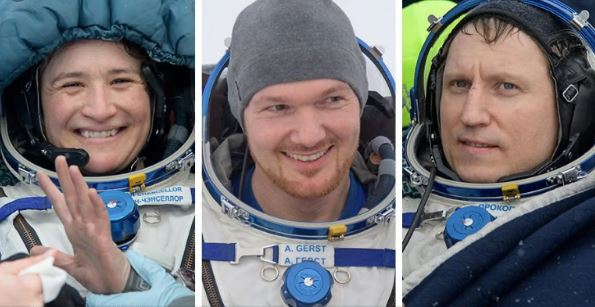 3 astronauts return to Earth from ISS