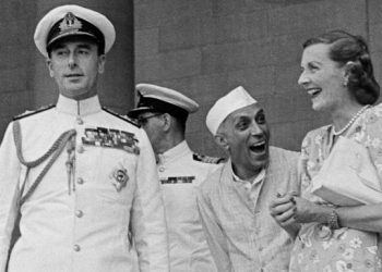 Jawaharlal Nehru and the Mountbattens