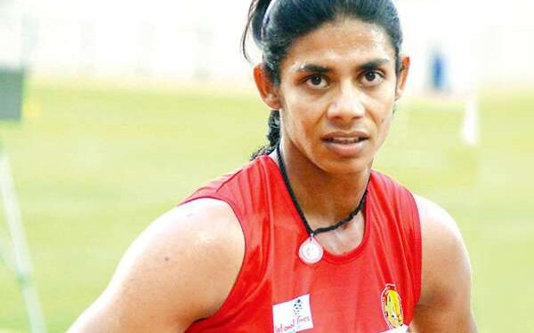Indian sprinter Nirmala Sheoran